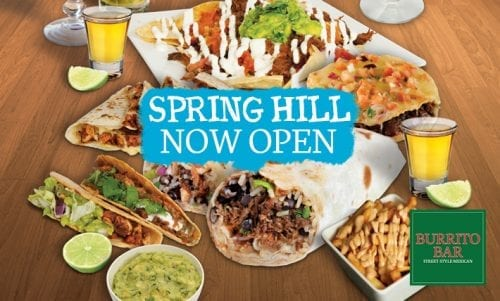 spring hill now open